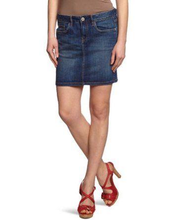 G-Star Women's 3301 Long Mini Skirt Comfort D.I. Denim, Rugby Wash, 24x32 G-Star. $120.00