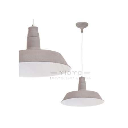 LAMPA wisząca SOMERTON 1 49252 Eglo szary | =mlamp.pl=