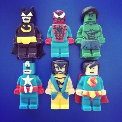 Lego Superhero Cake Ideas 83401 Superhero Lego Cake Topper