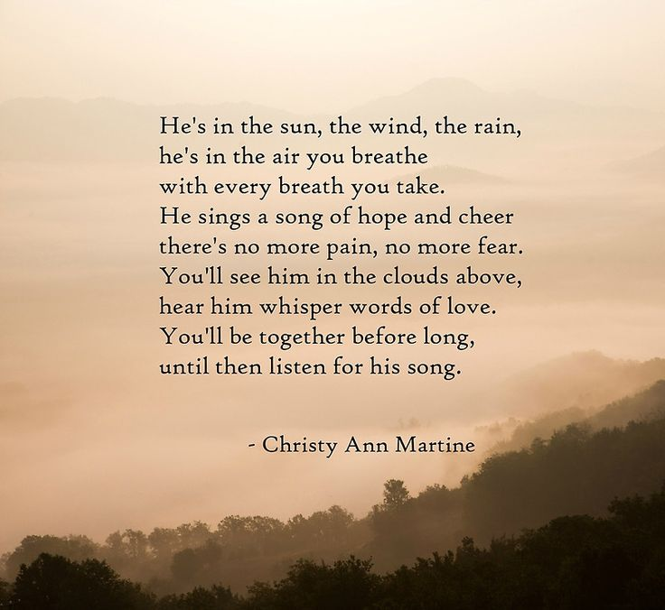 He's In the Rain Poem - Sympathy Gifts - Loss of Father Son or Husband - Framed…                                                                                                                                                                                 More