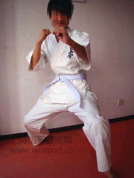 空手道服定做 個性定做跆拳道空手道表演服 道服批發制作 實體廠