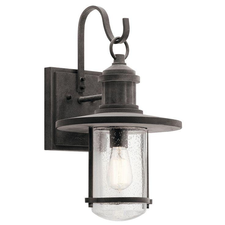 """Riverwood 19.5"""" 1 Light Outdoor Wall Light WZC"""