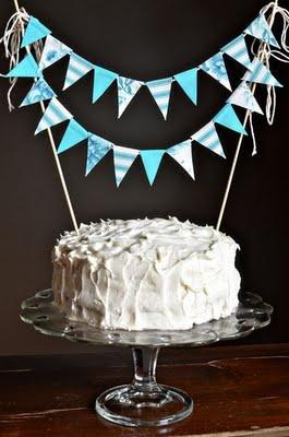 festoni piccolini per torta