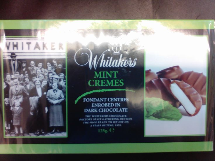 Whitakers Mint Cremes    Mint fondant centres, enrobed in luxuriousdark chocolate    125g    Better than 1/2 rrp    BB 31st March 2018 | Shop this product here: http://spreesy.com/DiscountFoodsofLincoln/259 | Shop all of our products at http://spreesy.com/DiscountFoodsofLincoln    | Pinterest selling powered by Spreesy.com