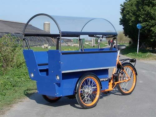 i've been intrigued with the idea of taking an industrial tricycle and building a lightweight camper on the back. Maybe with an electric motor to aid in propulsion?