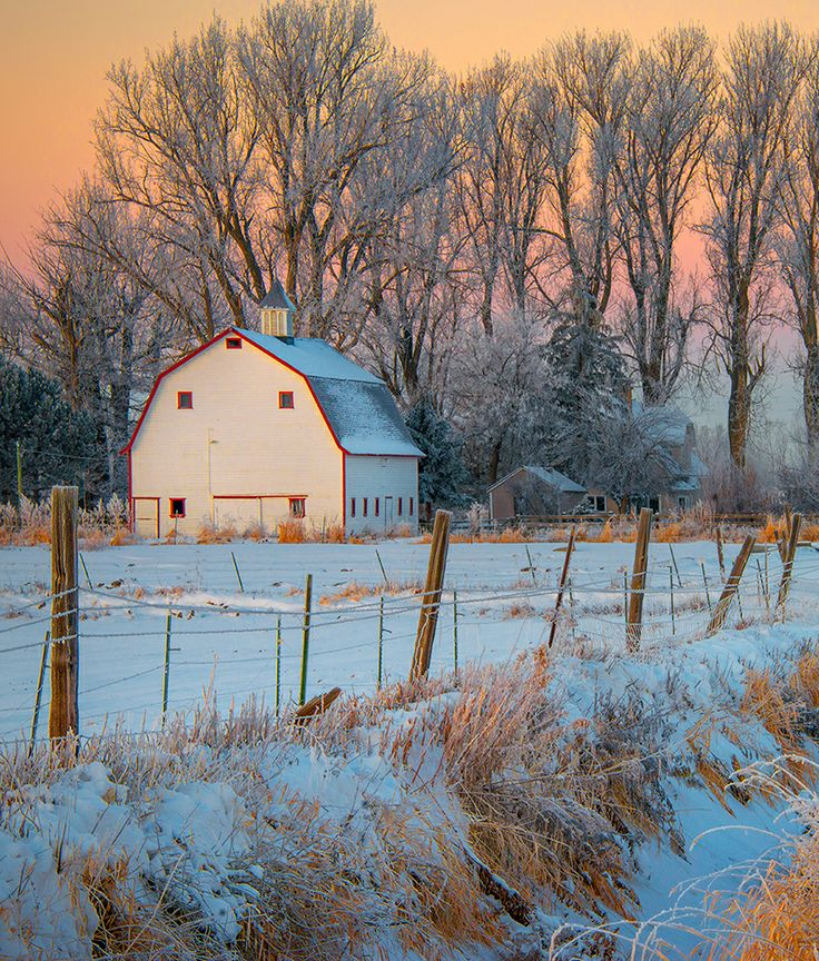 Barn near Idaho Falls