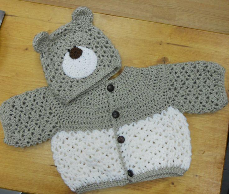Crochet Teddy Set - Sooo cute!
