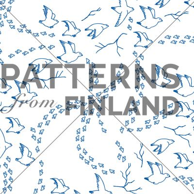Lagobus lagobus by Tanja Kallio  #patternsfromagency #patternsfromfinland #pattern #patterndesign #surfacedesign #tanjakallio