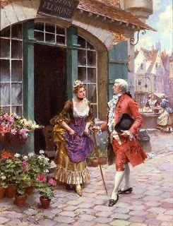 Мир искусства в живописи: Henry Victor Lesur (B. 1860, FL. 1887-1900)