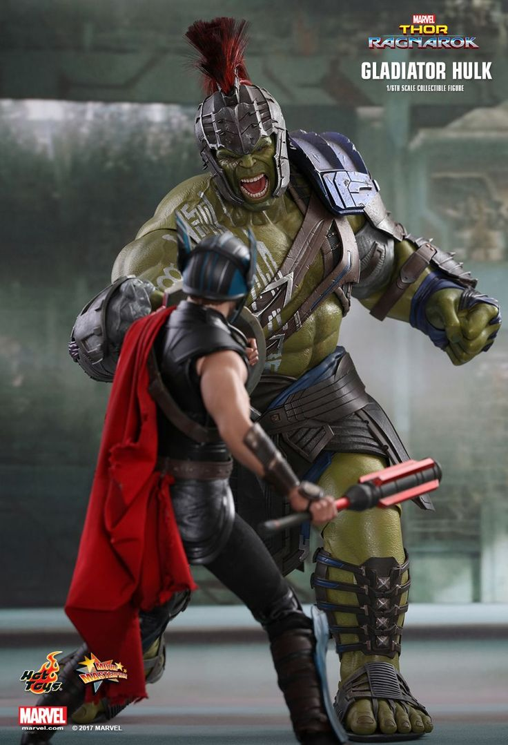 Hot Toys : Thor: Ragnarok - Gladiator Hulk 1/6th scale Collectible Figure