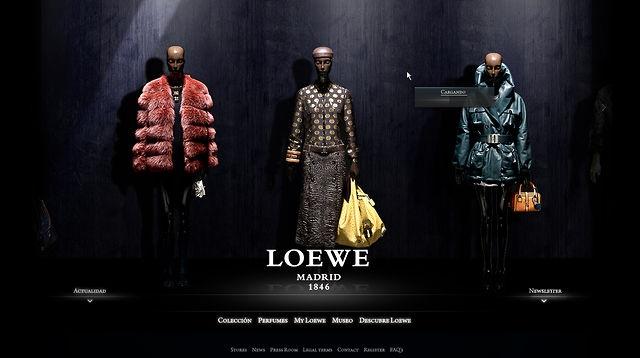 Loewe - website 2010