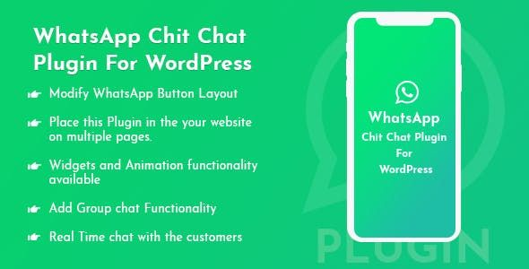 Whats Chit Chat Plugin For WordPress
