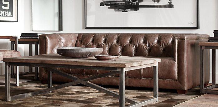Savoy In Antiqued Ebony Or Cognac Restoration Hardware Nagel Bagel Pinterest And