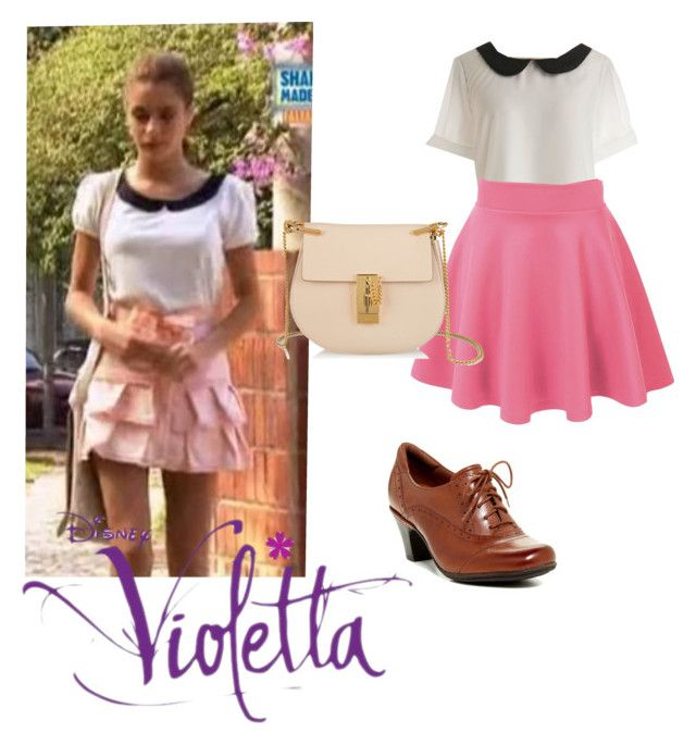 """Violetta Outfit"" by violetta-forever ❤ liked on Polyvore featuring Chloé, Cobb Hill and plus size clothing"