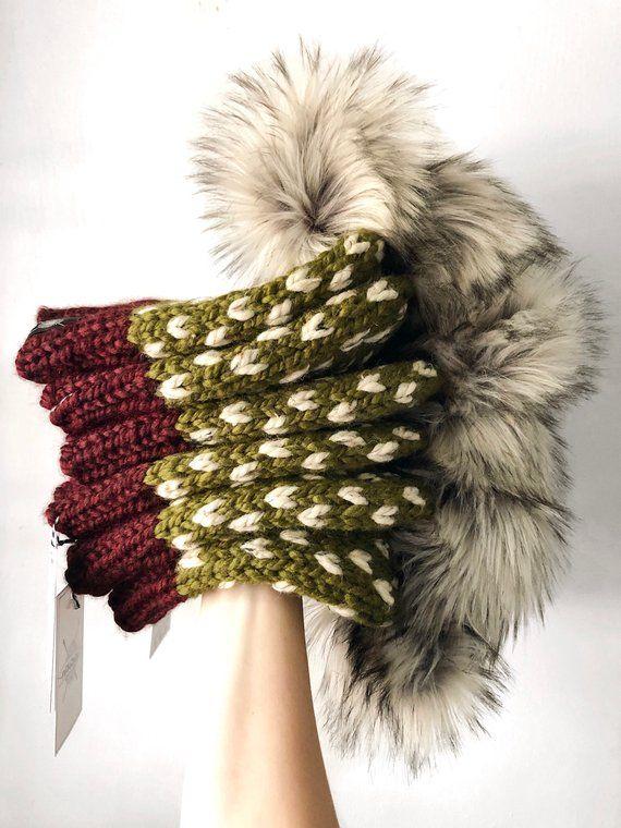 Autumn Fall Knit Pom-Pom Beanie 295435b0c26