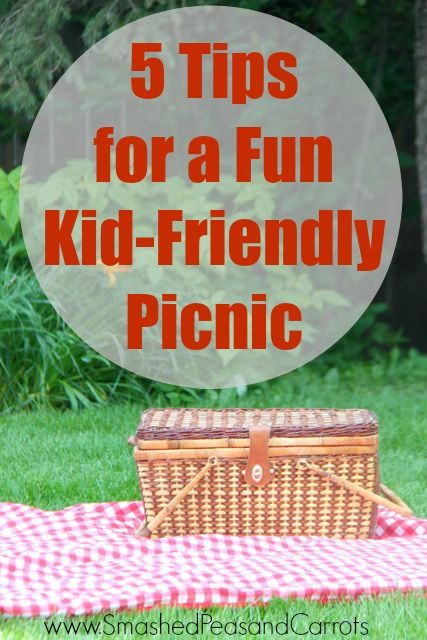 5 Tips for a Kid Friendly Picnic. These are great ideas for little ones! // Smashed Peas and Carrots.com Brought to you buy Boogie Wipes.