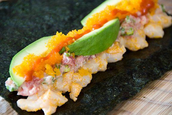 spicy tuna scallop sushi roll recipe - including the perfect sushi ...