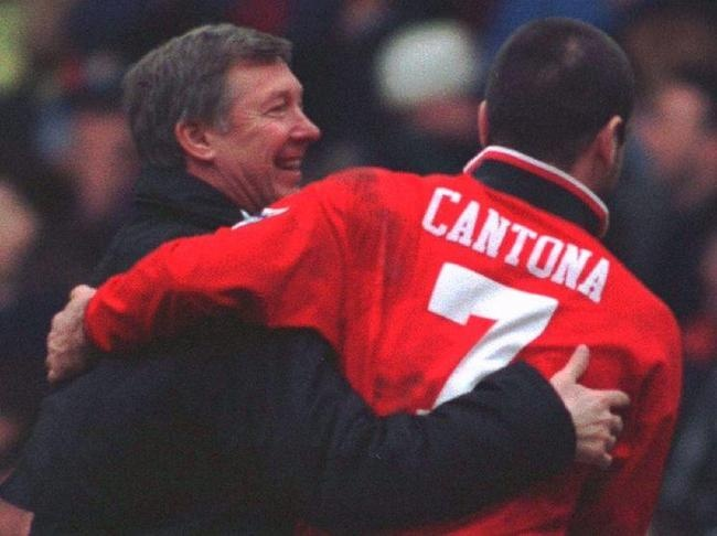 Alex Ferguson & Eric Cantona (Manchester United)