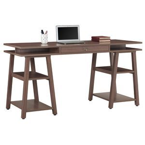 Hampton Trestle Desk - how good would this desk be in my new styled creative space - am thinking I might need to talk to Santa about this  - love the vintage eclectic style that so suits me and all that extra storage space  love it ... love it.... love it.