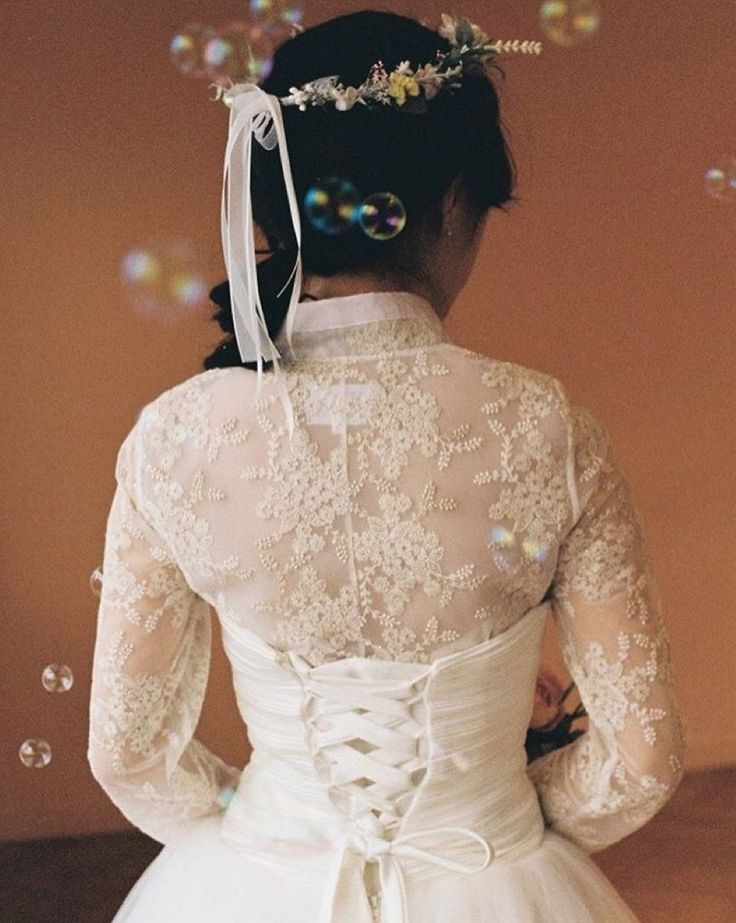 lace hanbok