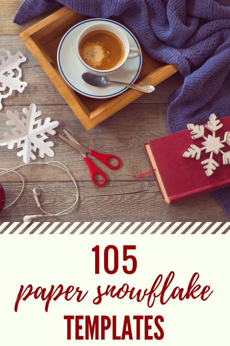 105 Paper Snowflake Templates