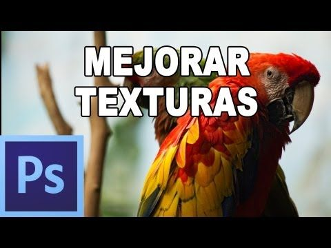 ▶ Cómo añadir textura a fotografia - Tutorial Photoshop en Español (HD) - YouTube