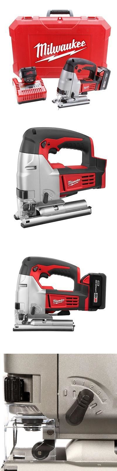Jig and Scroll Saws 122834: Milwaukee 2645-22 M18 18V Li-Ion Cordless Jigsaw Kit -> BUY IT NOW ONLY: $349 on eBay!