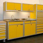 Custom Metal Garage Cabinets for Storage