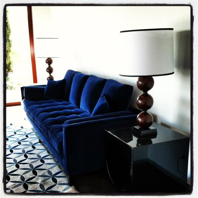 34 Best Blue Sofa Images On Pinterest Blue Couches Blue