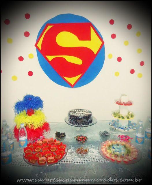 festa super homem