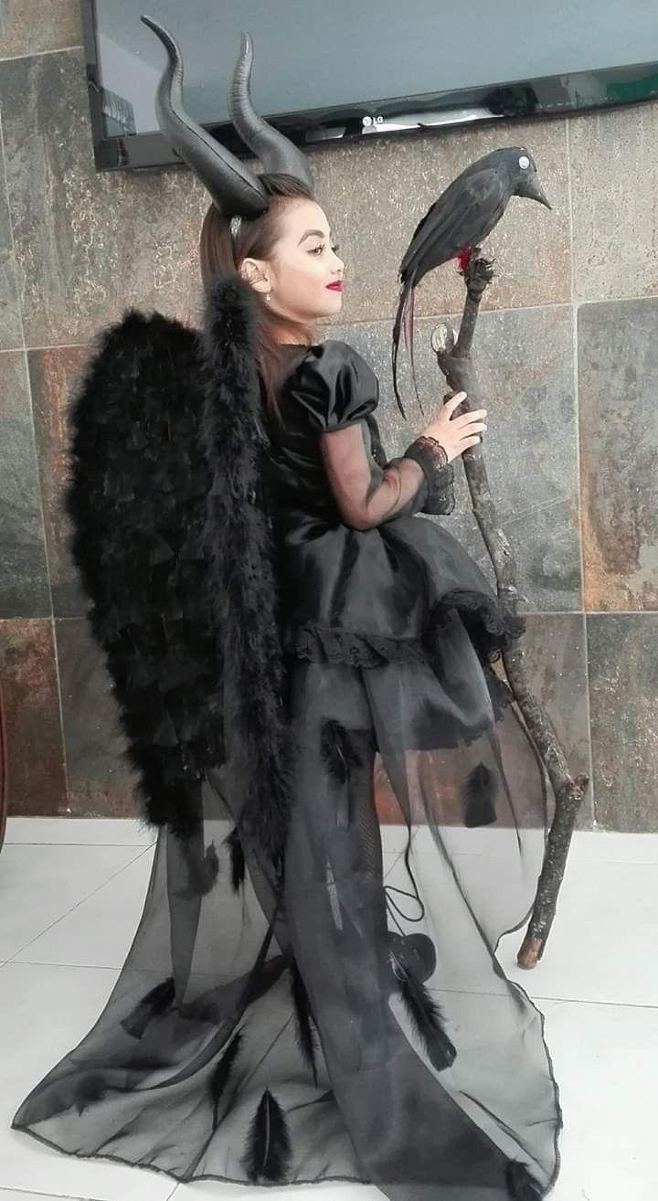 Kostüm von Maleficent Mädchen Halloween