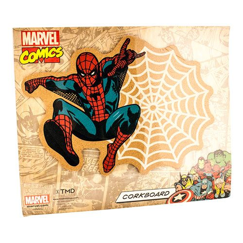 Spider-Man Marvel Sticky Web Corkboard $11.99