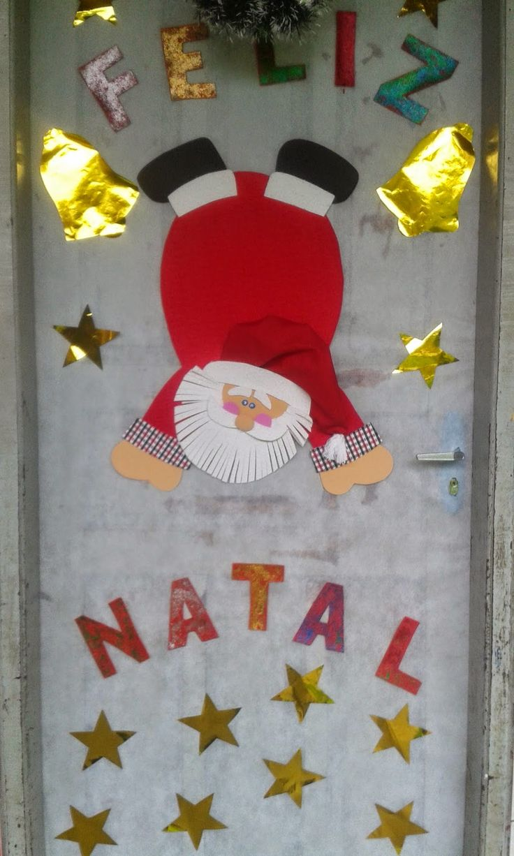 portas decoradas de natal - Pesquisa Google