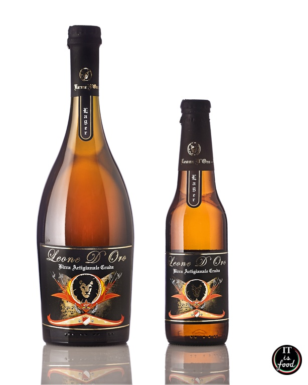 Leone d'oro #Birra Artigianale 100% naturale  £3.50