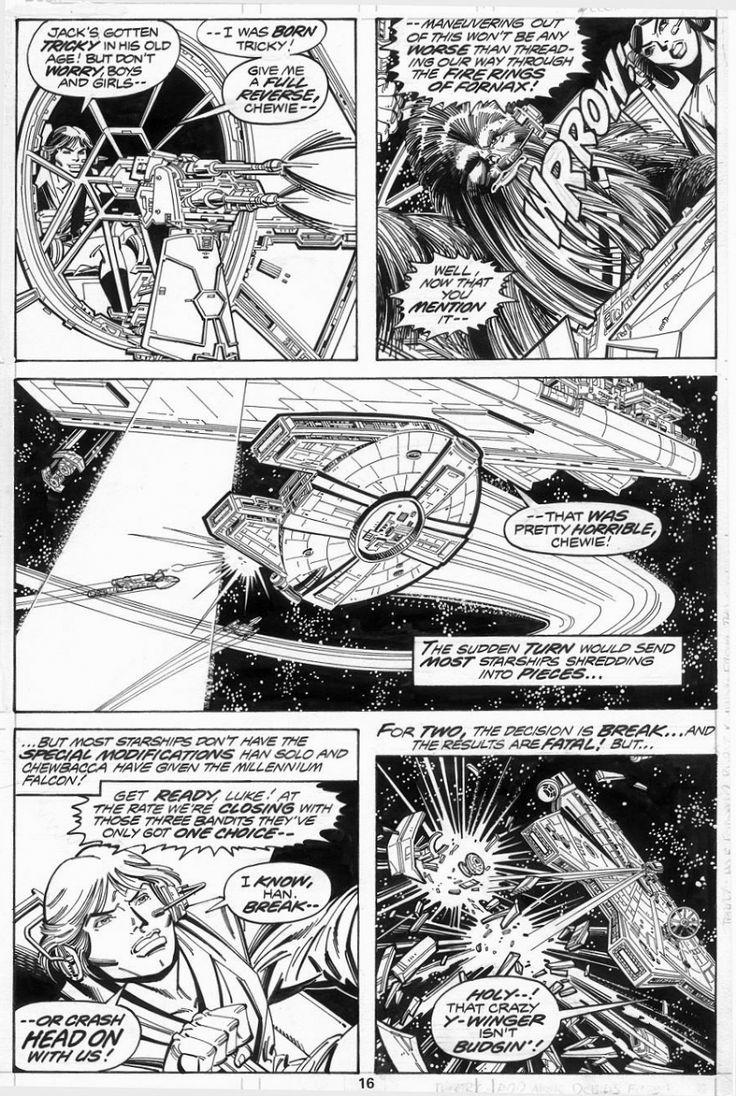 Star Wars Artwork Comic Book