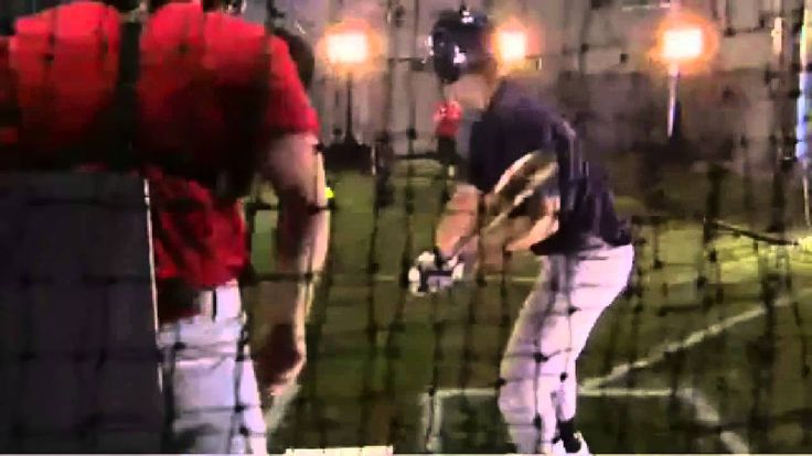 softball pitch vs baseball pitch. This totally proves that softball is harder to hit than a baseball.