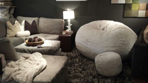 Long hard day at work?  How great would it be to come home to curl up on one of these?!