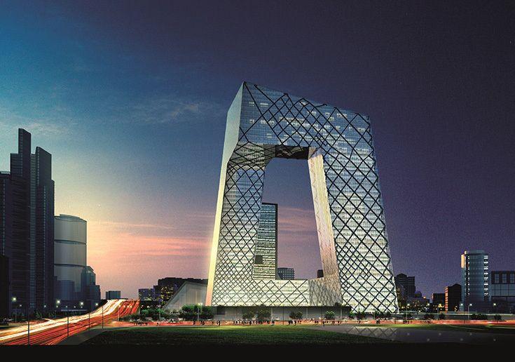 Рем Колхас. Здание канала CCTV в Пекине, 2013