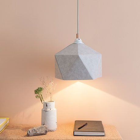 Geometric Pendant Lamp by KAMIDESIGN | MONOQI #bestofdesign