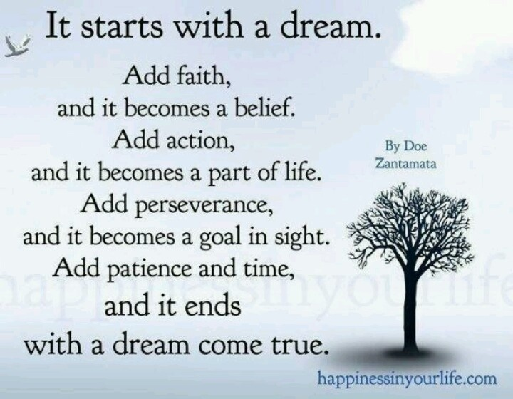 Image result for dreams come true inspirational quotes