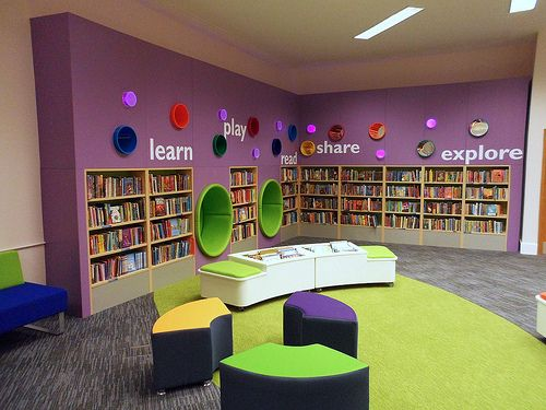 Woking Library - baby rhyme time every Wednesday morning 11am. Fantastic childrens section, loads of space for the bugs to investigate books. Good for mums too :)