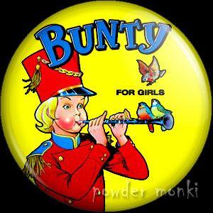 Bunty Annual 1980 - Badge/Magnet ~ www.powdermonki.co.uk ~ £0.99