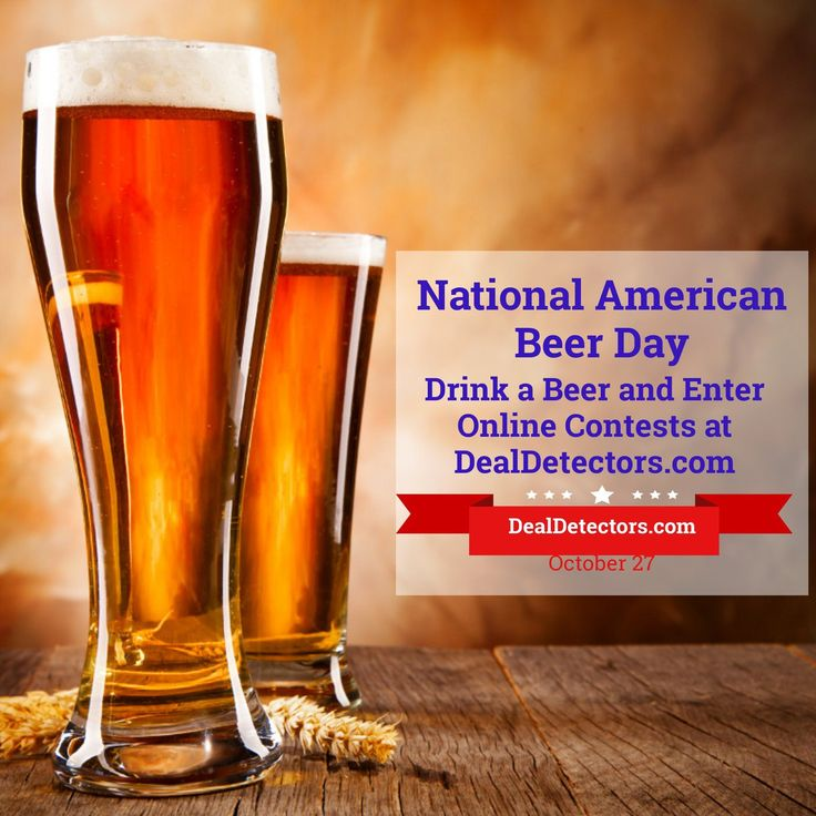 Happy National Beer Day! Have a Few and look for fun free online contests at http://amp.gs/BpZ8! #Beer #Sweeps