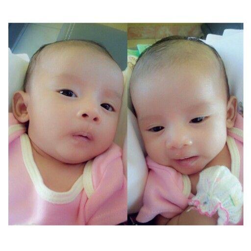 Sweet little angel face #littleleeka