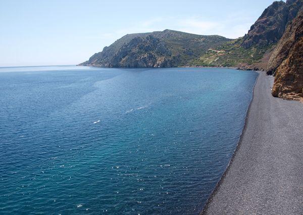 mavra volia beach chios island