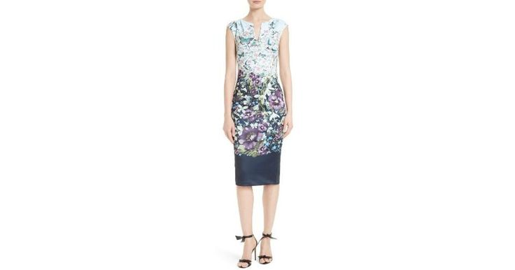 Buy Ted Baker Women's Blue Tiha Floral Print Sheath Dress, starting at $198. Similar products also available. SALE now on!