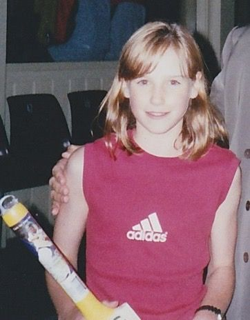 Ellyse Perry remembers being 10-years-old and getting her fringe cut by her dad.