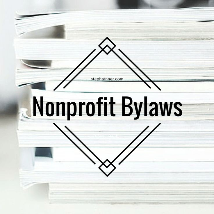 61 best Non profit images on Pinterest Nonprofit fundraising - church bylaws template