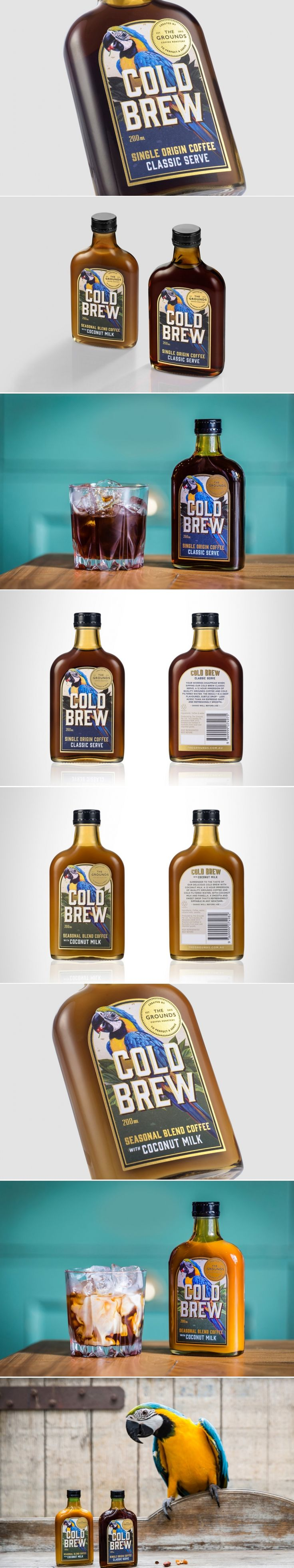 Let This Refreshing Cold Brew Transport You To the Tropics — The Dieline | Packaging & Branding Design & Innovation News