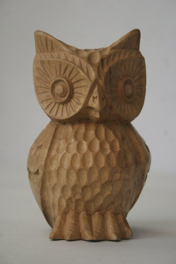 Wood carved owl new project carving pinterest
